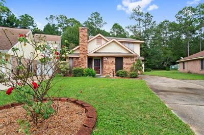 Slidell Single Family Home For Sale: 16 Cypress Meadow Loop