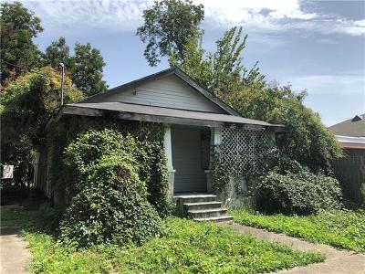 New Orleans Single Family Home For Sale: 3153 N Johnson Street