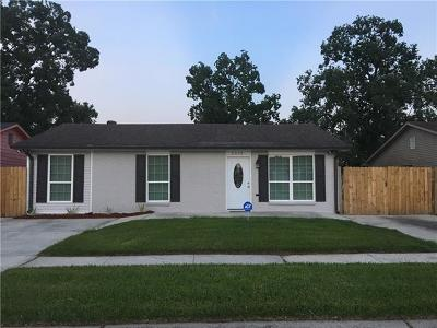 Marrero Single Family Home For Sale: 2033 Luther Drive