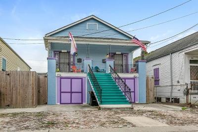 New Orleans Multi Family Home For Sale: 1122 - 1124 N. Johnson Street