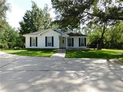 Slidell Single Family Home For Sale: 56250 Blue Ridge Drive