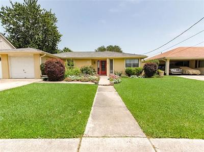 Metairie Single Family Home For Sale: 4633 Kent Avenue