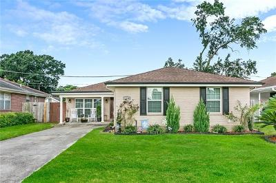 Metairie Single Family Home For Sale: 1804 Frankel Avenue