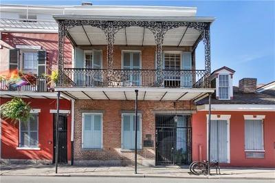 Jefferson Parish, Orleans Parish Condo For Sale: 425 Burgundy Street #4