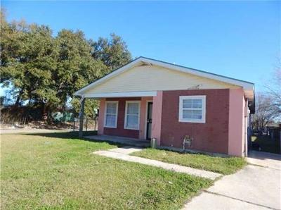 New Orleans Single Family Home For Sale: 7861 Sail Street