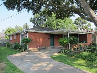 Metairie Single Family Home For Sale: 1709 N Turnbull Drive
