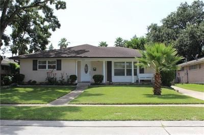 Metairie Single Family Home For Sale: 3608 Henican Place