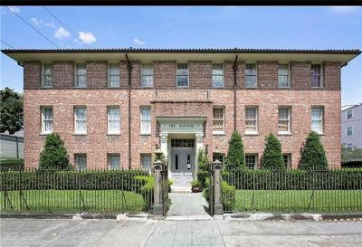 New Orleans Condo For Sale: 1783 Coliseum Street #H