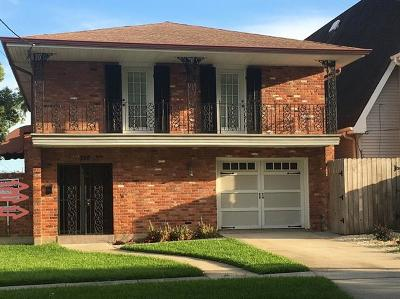 New Orleans Single Family Home For Sale: 248 14th Street