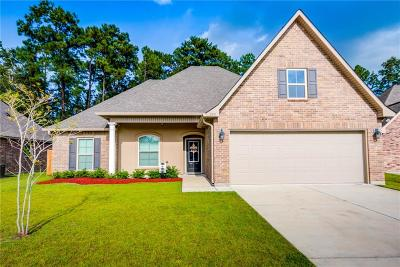 Slidell Single Family Home For Sale: 555 Tanglewood Drive