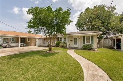 Marrero Single Family Home For Sale: 1109 Farrington Drive