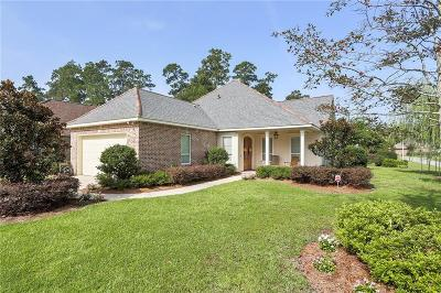 Madisonville LA Single Family Home For Sale: $389,900