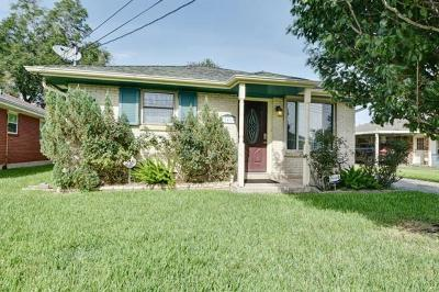 New Orleans Single Family Home For Sale: 7619 Lady Gray Street