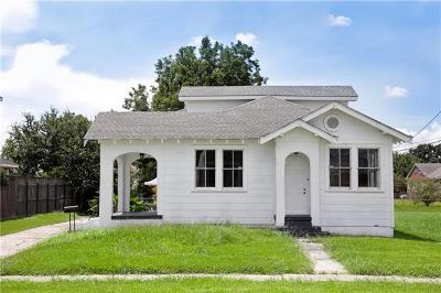 Gretna Single Family Home Pending Continue to Show: 614 Virgil Street