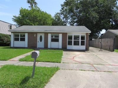 Marrero Single Family Home For Sale: 5013 Rochester Drive
