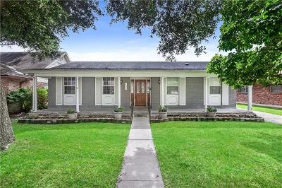 Metairie Single Family Home For Sale: 3000 Jessica Street