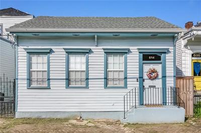 New Orleans Single Family Home For Sale: 614 Sixth Street