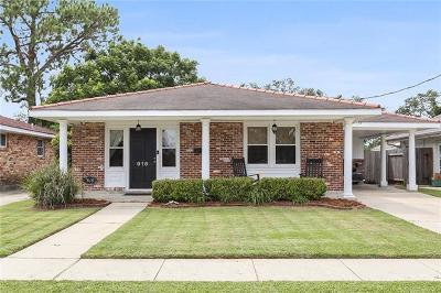 Metairie Single Family Home For Sale: 916 W William David Parkway