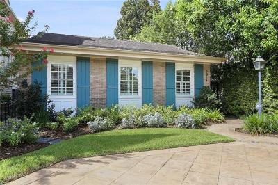New Orleans Single Family Home For Sale: 5914 Garfield Street