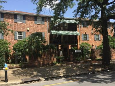 New Orleans Condo For Sale: 2855 Saint Charles Avenue #301