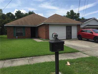 New Orleans Single Family Home For Sale: 2043 Halsey Avenue