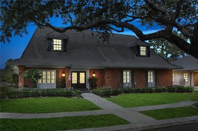New Orleans Single Family Home For Sale: 5600 Marcia Avenue