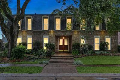 New Orleans Single Family Home For Sale: 3558 Pin Oak Avenue