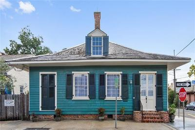 New Orleans Single Family Home For Sale: 1800 Burgundy Street