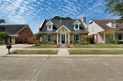 Metairie Single Family Home For Sale: 3716 Tolmas Drive