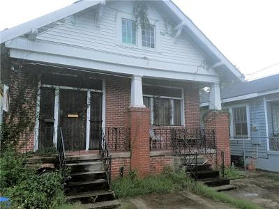 New Orleans Single Family Home For Sale: 1625 N Galvez Street