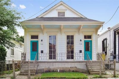 New Orleans Multi Family Home For Sale: 726 Josephine Street