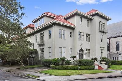 New Orleans Condo For Sale: 5912 St Charles Avenue #I