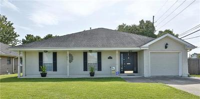 Metairie Single Family Home For Sale: 2101 Danny Park