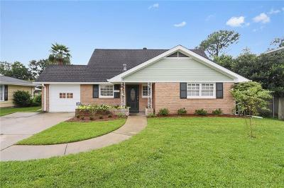 Metairie Single Family Home For Sale: 5812 York Street