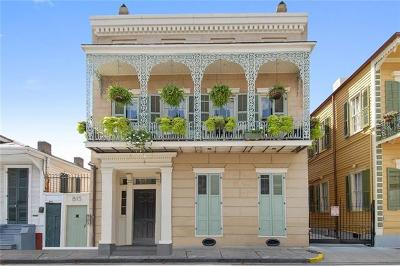 New Orleans Condo For Sale: 815 Dauphine Street #D