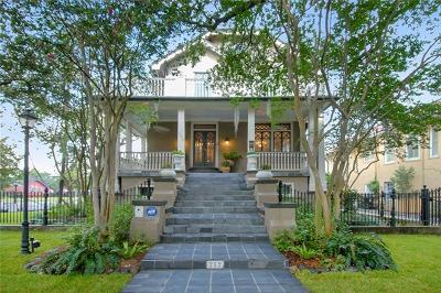 New Orleans Single Family Home For Sale: 252 Audubon Boulevard
