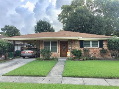 Metairie Single Family Home For Sale: 2109 Riviere Street