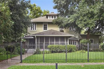 New Orleans Single Family Home For Sale: 8407 Panola Street