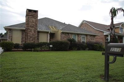 Harvey Single Family Home For Sale: 3512 Lake Arrowhead Drive
