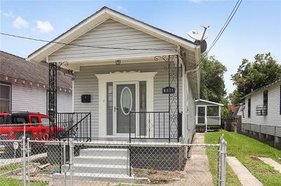 Single Family Home For Sale: 8821 Colapissa Street