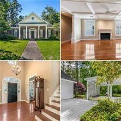 Mandeville Single Family Home For Sale: 50 Audubon Lake Drive