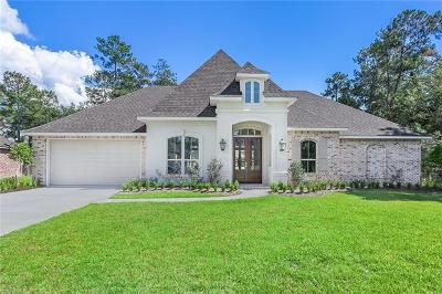 Madisonville Single Family Home For Sale: 200 Belle Pointe Drive