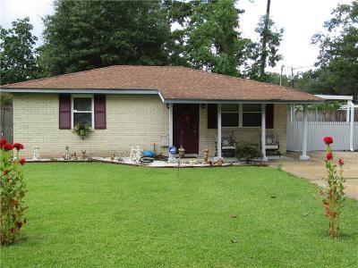Slidell Single Family Home For Sale: 1601 Beech Street