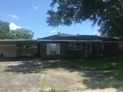 Jefferson Parish Single Family Home Pending Continue to Show: 395 Buttercup Drive