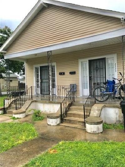 New Orleans Multi Family Home For Sale: 2333 St Anthony Street