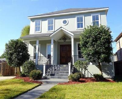 New Orleans LA Single Family Home For Sale: $479,900