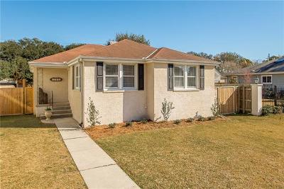 Single Family Home For Sale: 5835 General Diaz Street