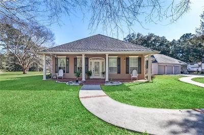 Ponchatoula Single Family Home For Sale