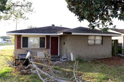Kenner Single Family Home For Sale: 900 Maryland Avenue