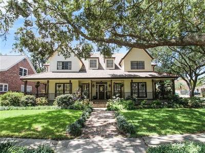 Metairie Single Family Home For Sale: 4716 Woodland Avenue